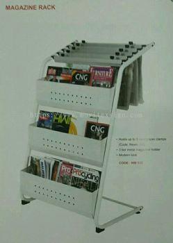 magazine rack / newspaper holder stand