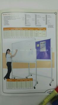 White board n roller stand
