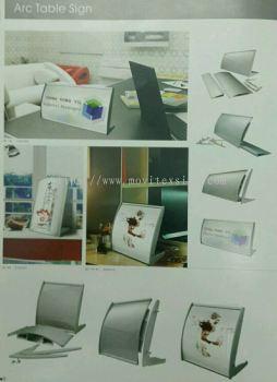 table sign aluminium /Architecture profle