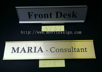 office sign johor / even can use it for table sign