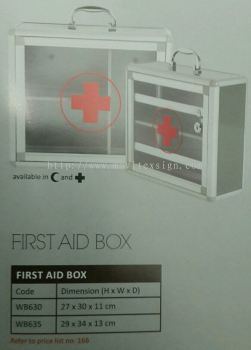 first aid box/ medical box in office  or factory