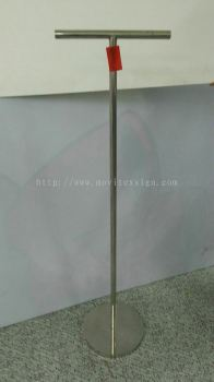 sign pole/stainless steel pole