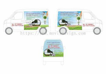 van advertising design /signboard design jb