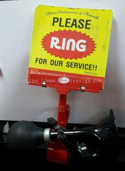 caling signage / door bell signage