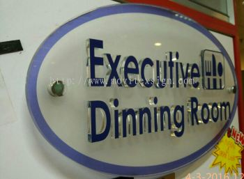 door sign Jb or arcylic sign 3D lettering