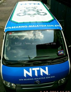 van advertising Jb /roof top advertising to tranfom your products message to the market