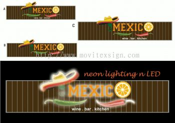 design and build 3d sign with Neon sign