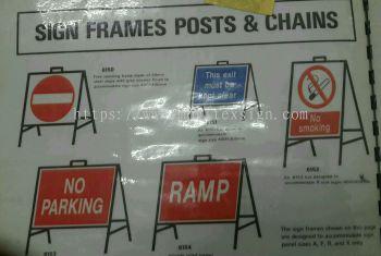 porterble safety sign n  Design sample