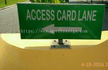 Signage CCTV n general information Sign