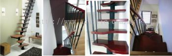Spacesaver M-staircase