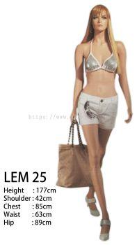 440006 – FEMALE FIBER MANNEQUIN SKIN (C/LEM 25)