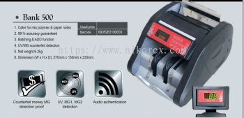 63123-BIOSYSTEM BANK500 NOTE COUNTER (BANK USE)