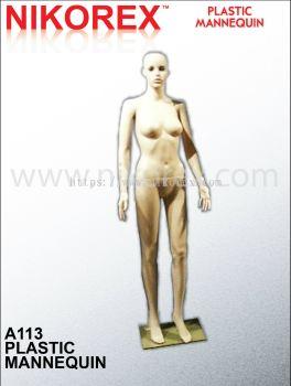 A113 - PLASTIC MANNEQUIN