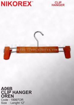 18997OR-A06B CLIP HANGER OREN 300pcs