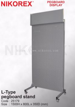 25179-L-Type  pegboard stand
