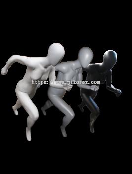 460006GY - Female Sport/M (Egg Face) M/Grey YU04