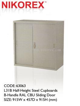 750202 - SLIDING DOOR CUPBOARD 3'H (L34B)