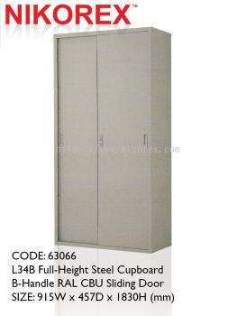 750302 - SLIDING DOOR CUPBOARD 6'H (L34B)