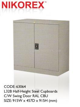 750201 - SWING DOOR CUPBOARD 3'H (L30B)