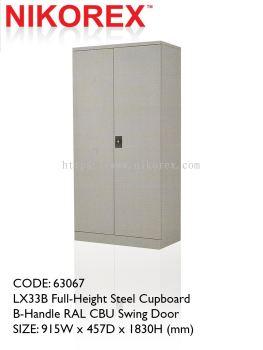 750301 - SWING DOOR CUPBOARD 6'H (L33B)