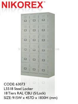 750404 - LOCKER 18 DOOR 6'H (L5518)