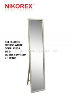 17624 - 33T FASHION MIRROR (WHITE)