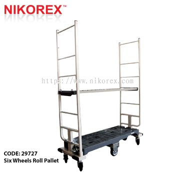 29727 - Six Wheels Roll Pallet