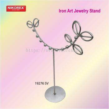 19276 SV Iron Art Jewelry Stand