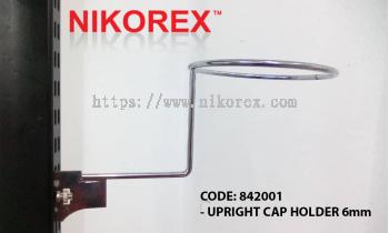 842001 - UPRIGHT CAP HOLDER 6mm