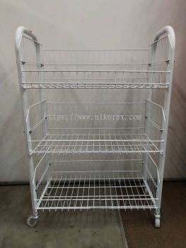 BS1001-BS2004 �C Basket Stand w Baskets