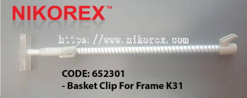 652301 - Basket Clip For Frame K31