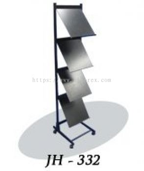 346003 - MAGAZINE / BROCHURE RACK (JH-332)