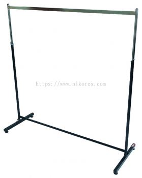 400101 / 400102 - GARMENT RACK NK 3'/4' CHROME (Undetachable)