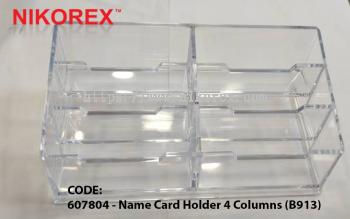 607804 - Name Card Holder 4 Columns (B913)
