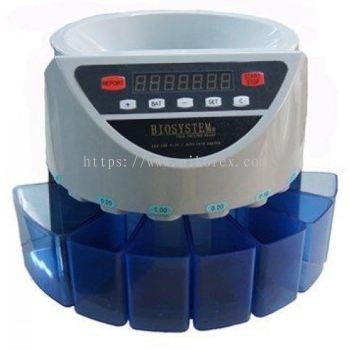63128-BIOSYSTEM CCS10A PLUS COIN COUNTER