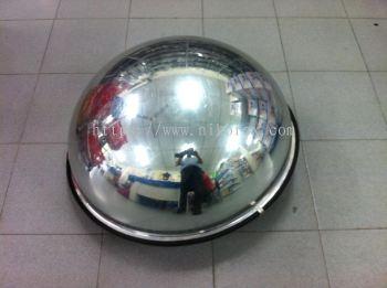 "17606-NK-26"" 1/2-Ball Mirror-Indoor"