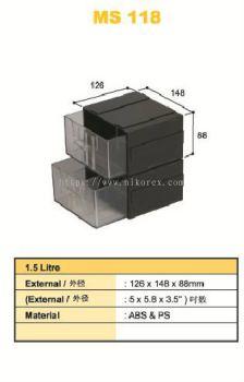 80301-MS118 126X148X88MM DRAWER SET