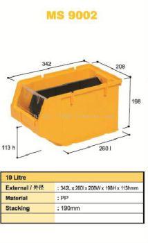 80320-MS9002 342X208X198MM STORAGE BIN