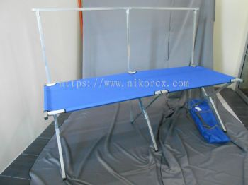 780502 - DISPLAY CANVAS TABLE 200L X 75Dcm WITH HANG BAR