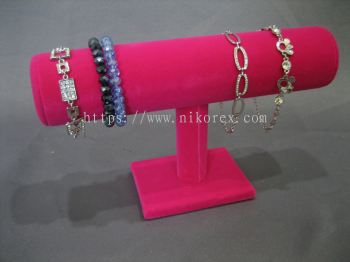 542501PK - BANGLE STAND 1 LAYER (PINK)
