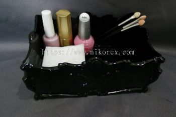 18709BK-B-006 BOX (15.5X11X7.5CM)-BLACK