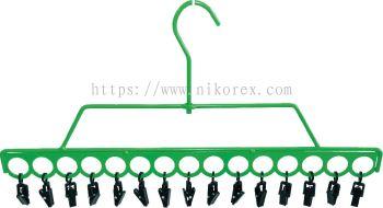 20901C(GR)-15Ring c/w Clip(Green)