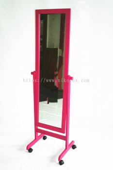 17626PN-SW-104 FASHION MIRROR-PINK