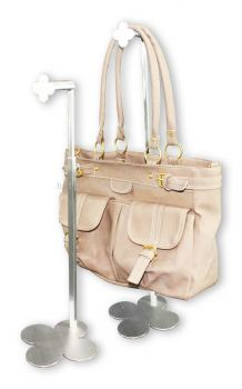 530007 - SS BAG STAND 1 SIDED TQ-017 (FLOWER)