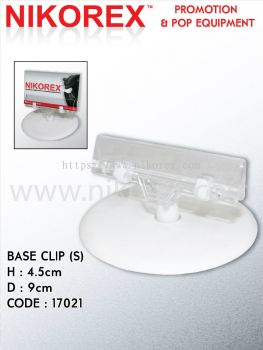 650051 - POP CLIP  S with BASE PLATE (D14-1)