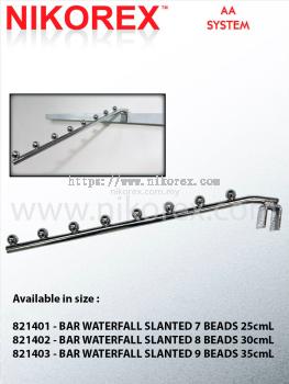 821401-821403 BAR WATERFALL SLANTED 7 BEADS