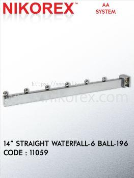 """11059-14""""STRAIGHT-WATERFALL-6BALL-196"""