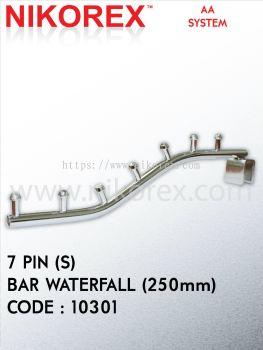 10301, 10302, 10303-7, 8, 9 PIN (S) BAR WATERFALL