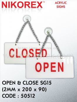 50512-OPEN & CLOSE SG15(2MMX200X90)