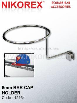12164-6MM BAR CAP HOLDER